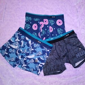 (3) Stance Boxer Briefs- Kids